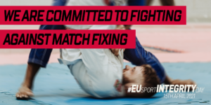 We are committed to fighting against match fixing