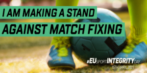 I am making a stand against match fixing