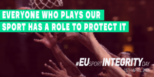Everyone who plays our sport has a role to protect it